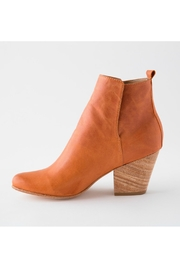 Fortress of Inca Handmade Leather Bootie - Front cropped