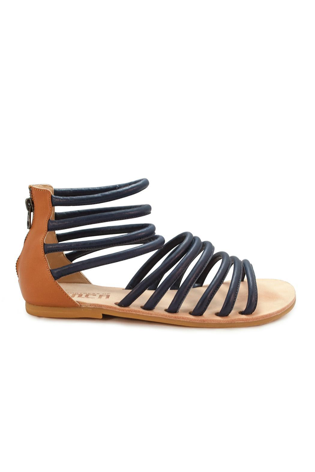Fortress of Inca Handmade Leather Sandal - Front Full Image