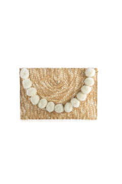 Shiraleah Fortuna Pom Pom Clutch - Alternate List Image