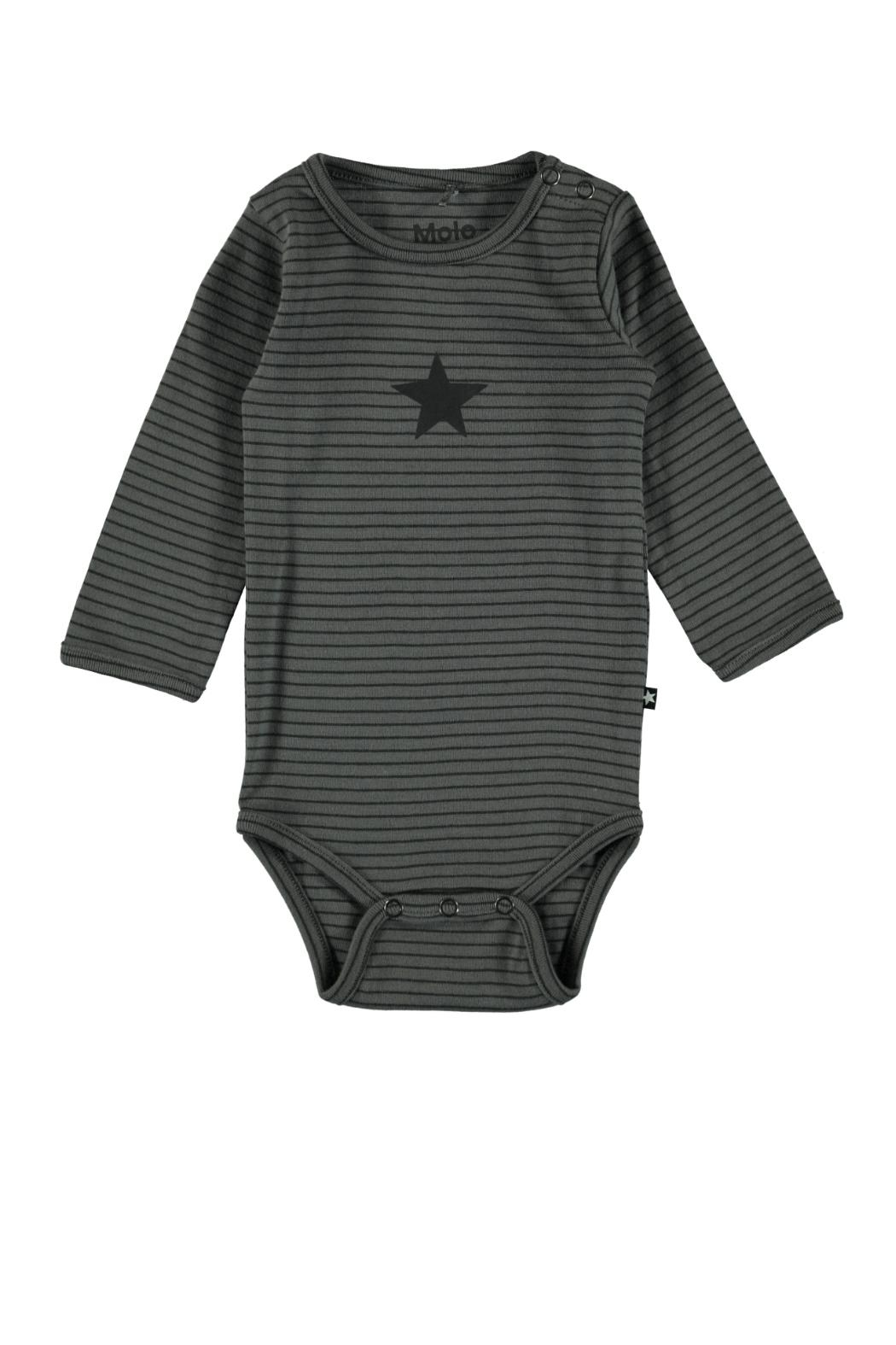 Molo Foss Bodysuit/pewter - Front Cropped Image