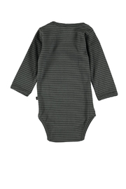 Molo Foss Bodysuit/pewter - Front full body