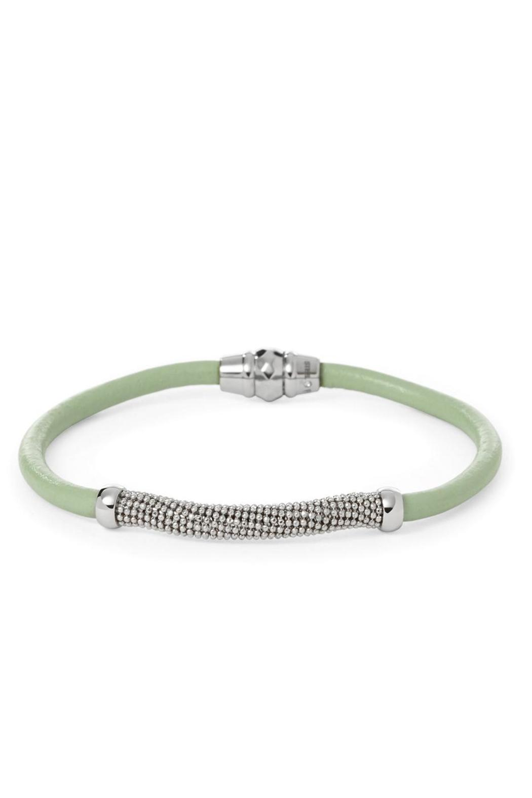 Fossil Chain Wrap Mint - Main Image