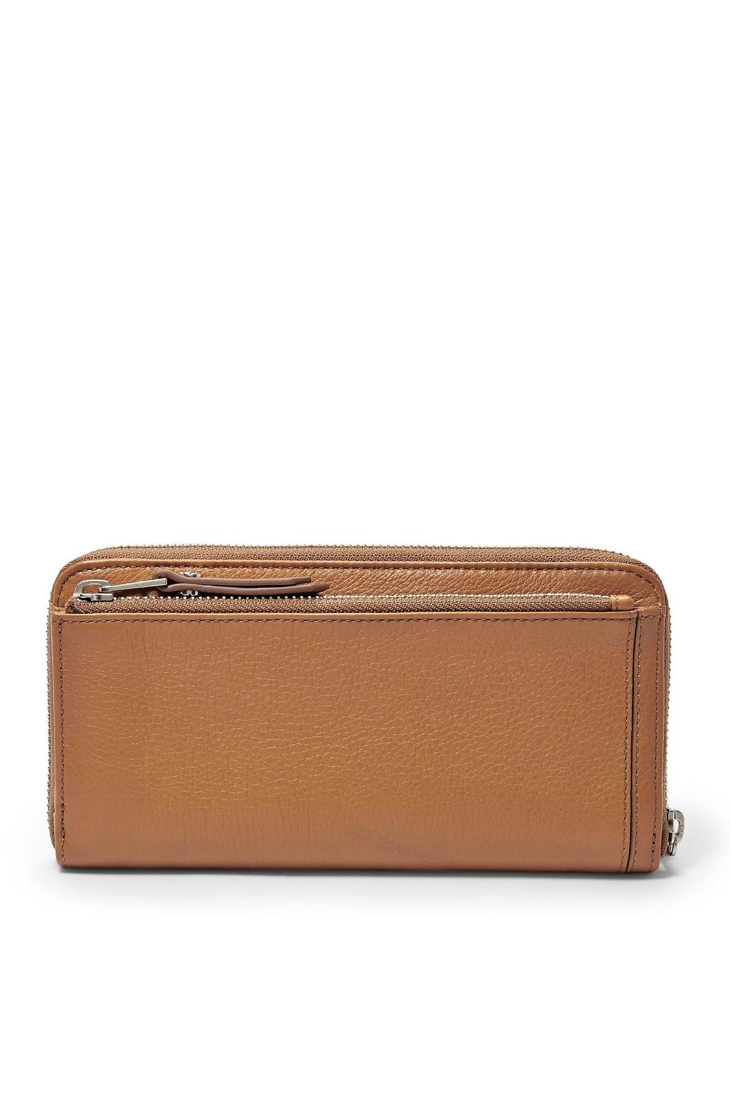 Fossil Dawson Clutch Camel - Side Cropped Image