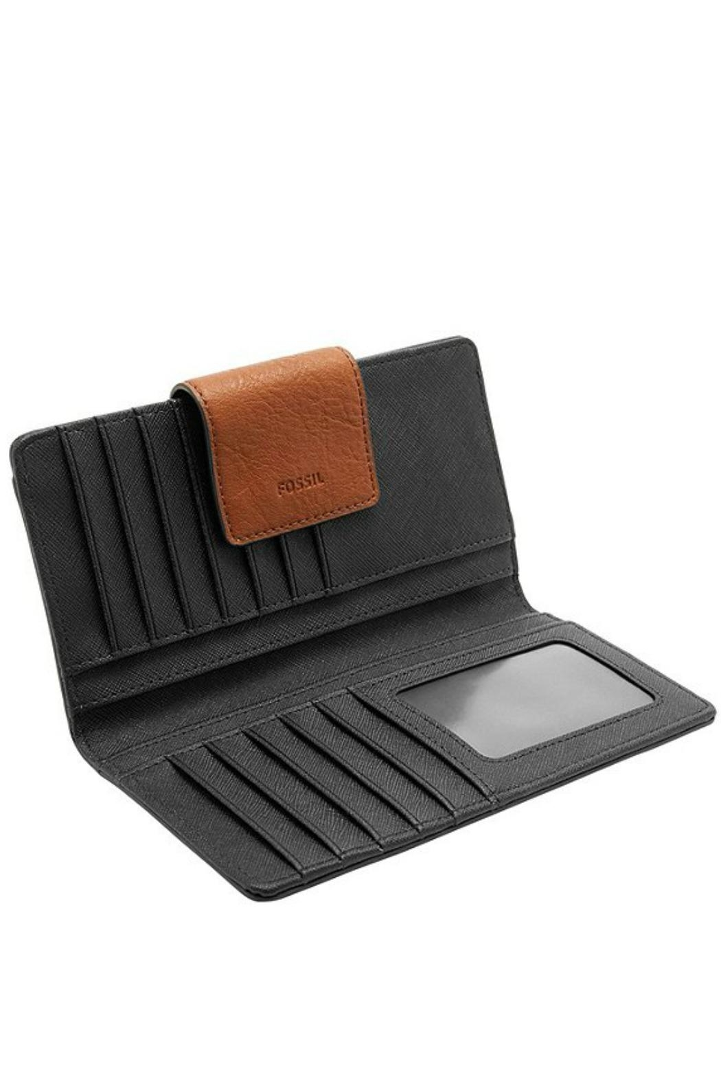 Fossil Leather Emma Wallet - Side Cropped Image
