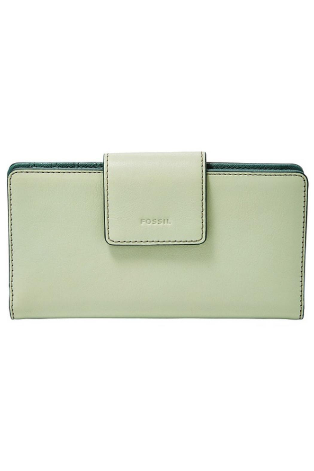 Fossil Leather Rfid Emma Clutch - Main Image