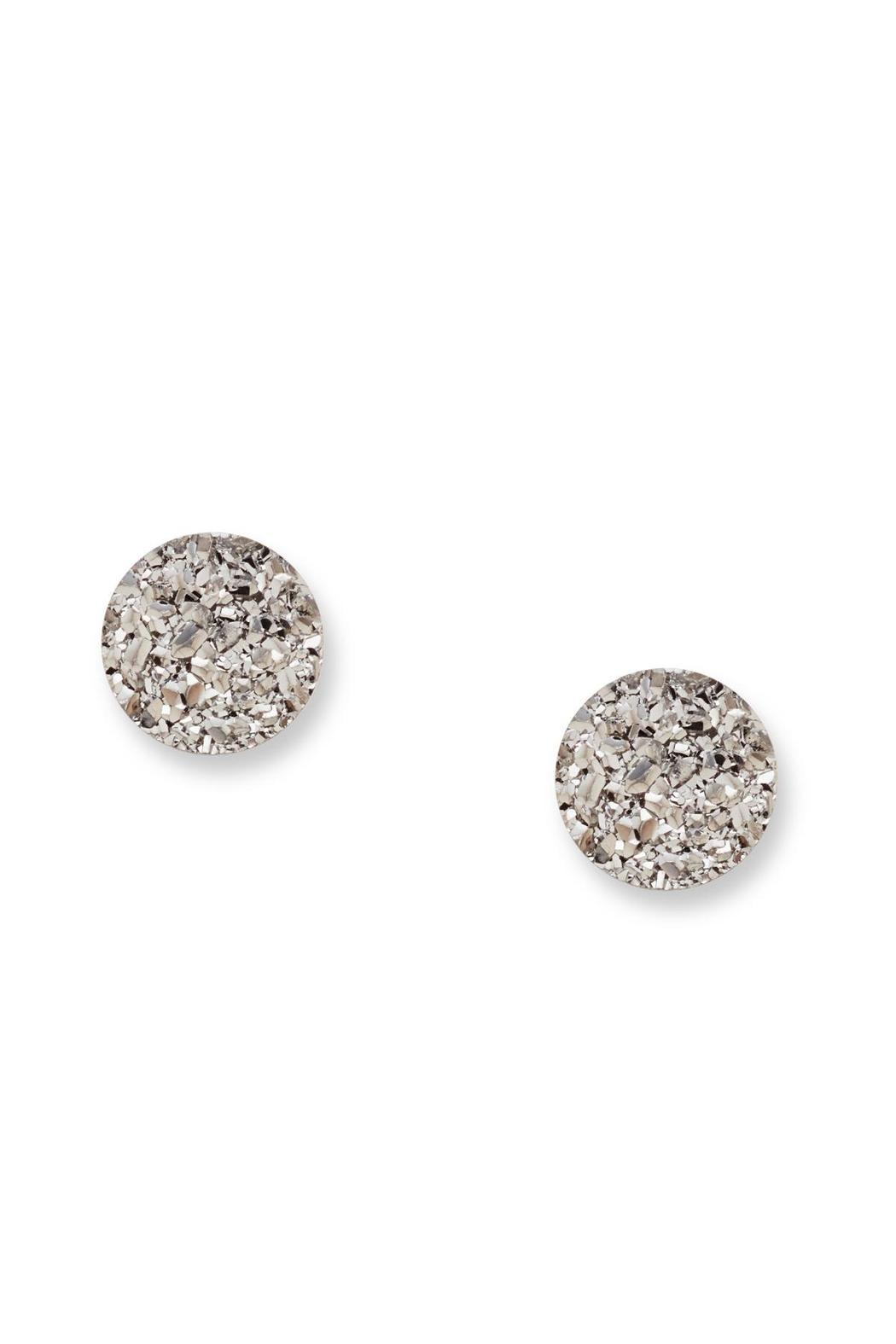 Fossil Shimmer Stone Studs - Main Image