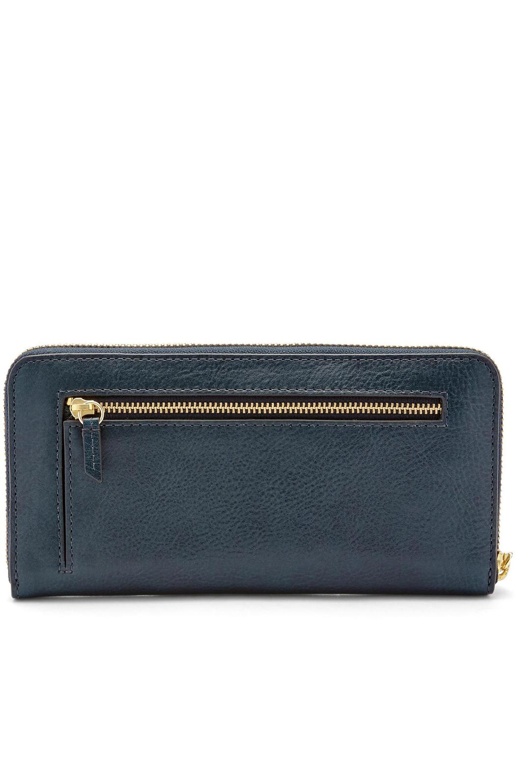 Fossil Sydney Zip Clutch - Front Full Image