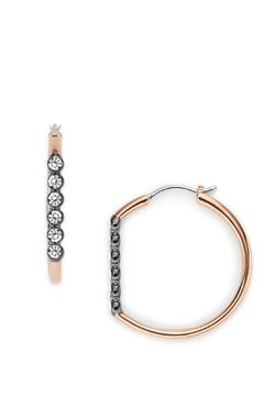 Shoptiques Product: Vintage Glitz Hoops