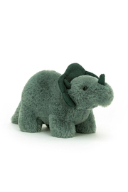 Jellycat  Fossily Triceratops Mini - Front cropped