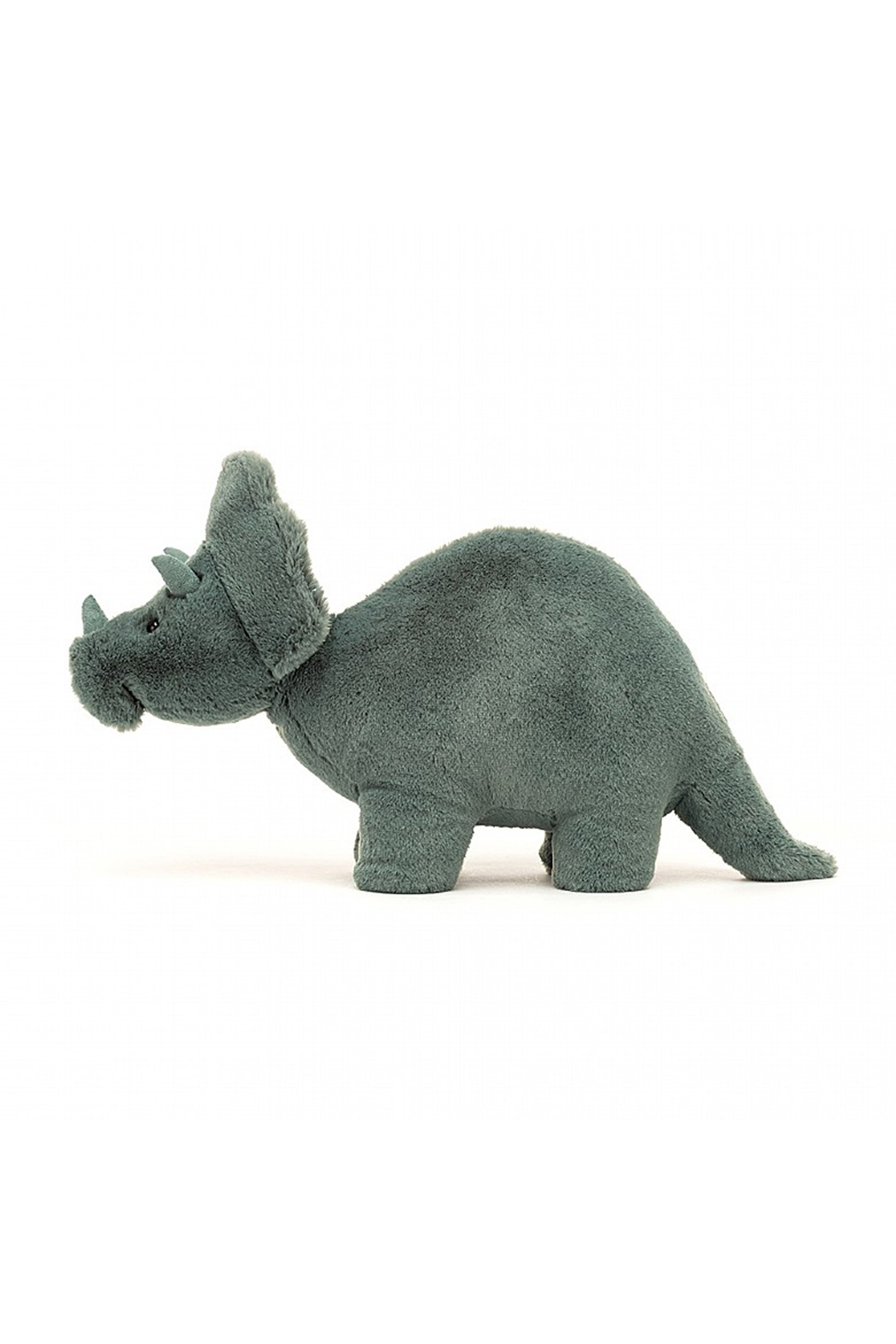Jellycat  Fossily Triceratops Mini - Front Full Image