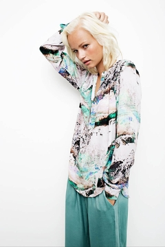 Dawn x Dare Fotoprinted Blouse - Product List Image