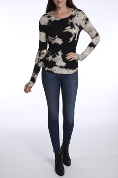 River + Sky  Found Love Ribbed Tie Dye L/S Top - Product List Image