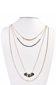 MS Accessories Four Layered Necklace - Product Mini Image