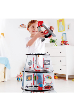 Hape Four-Stage Rocket Ship - Product List Image