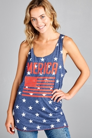 Racine Fourth-Of-July Tank-Top - Product Mini Image