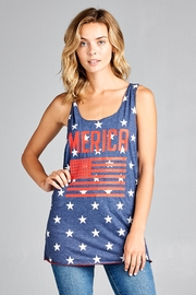 Racine Fourth-Of-July Tank-Top - Front full body