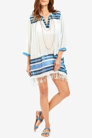 Roberta Roller Rabbit Fouta Border Tunic - Product Mini Image