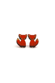 Unpossible Cuts Fox Earrings - Product Mini Image