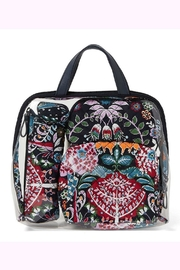 Vera Bradley Fox Forest 4pc-Cosmetic - Front cropped