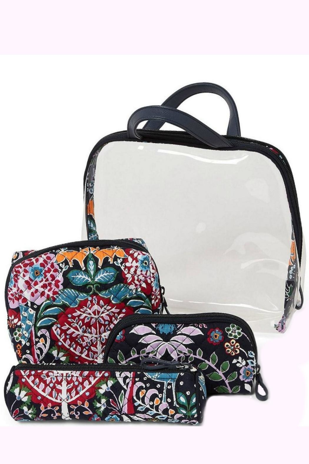 Vera Bradley Fox Forest 4pc-Cosmetic - Front Full Image