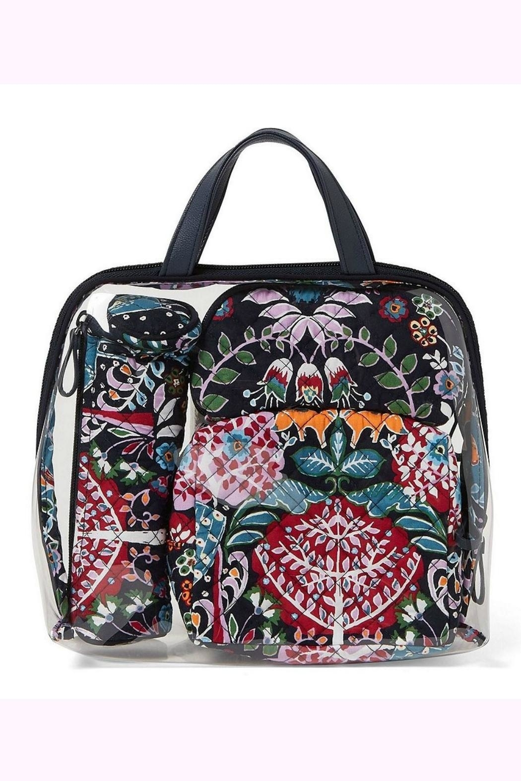 Vera Bradley Fox Forest 4pc-Cosmetic - Main Image