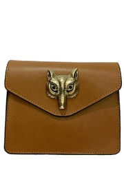Leather Country Fox Leather Clutch - Product Mini Image