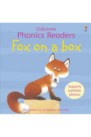 Usborne Fox On A Box - Front cropped