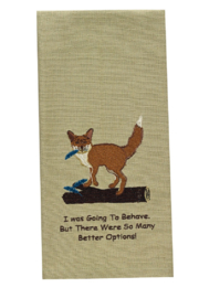 Park Designs Fox Options Dish Towel - Product Mini Image