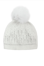 Mitchies Matching Fox-Pom Sparkle Hat - Product Mini Image