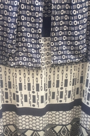 Fox's Graphic Pattern Dress - Front full body
