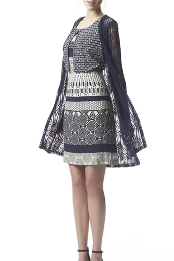 Fox's Graphic Pattern Dress - Main Image