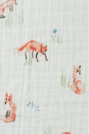 Little Unicorn Fox Swaddle Blanket - Side cropped
