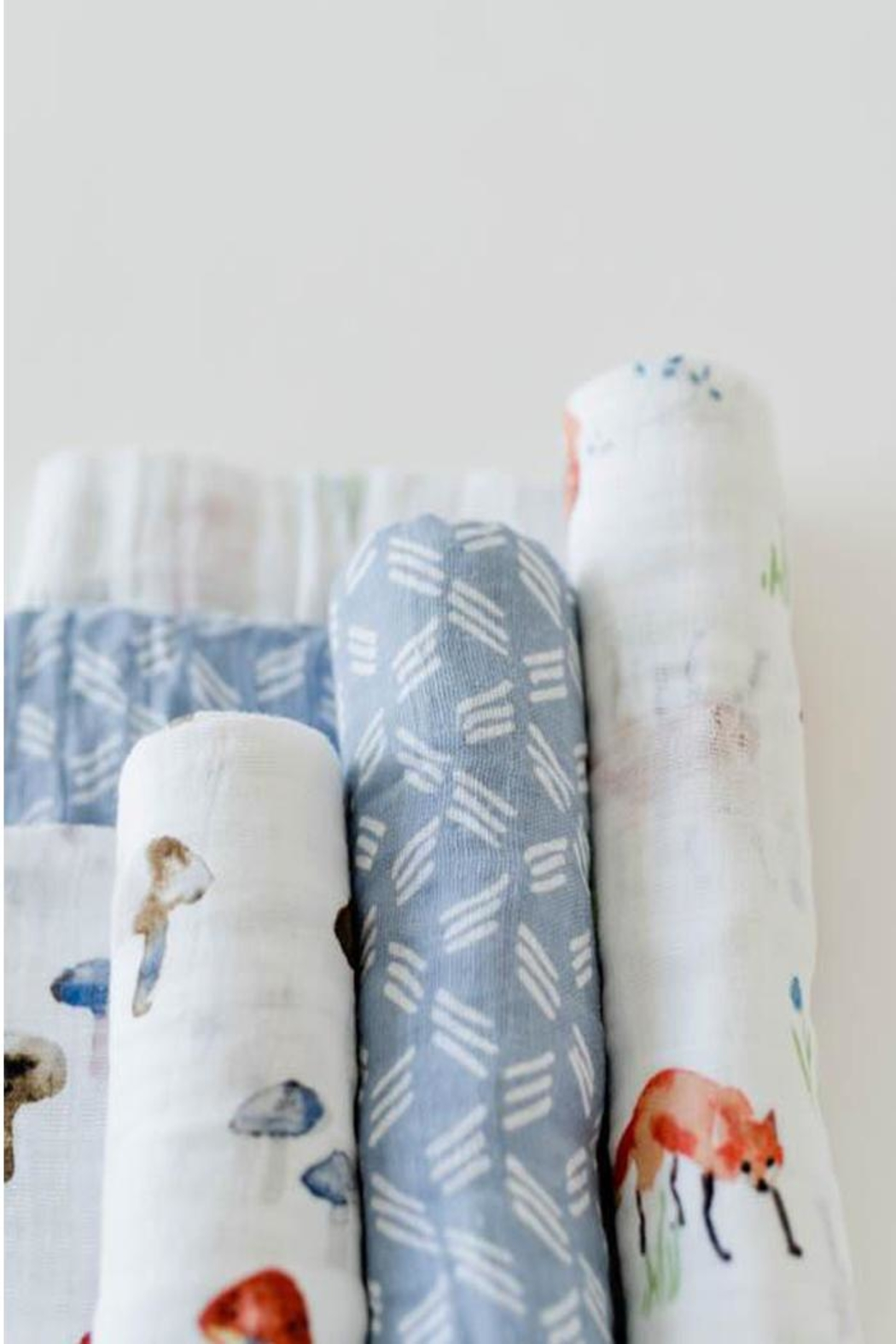 Little Unicorn Fox Swaddle Pack - Side Cropped Image