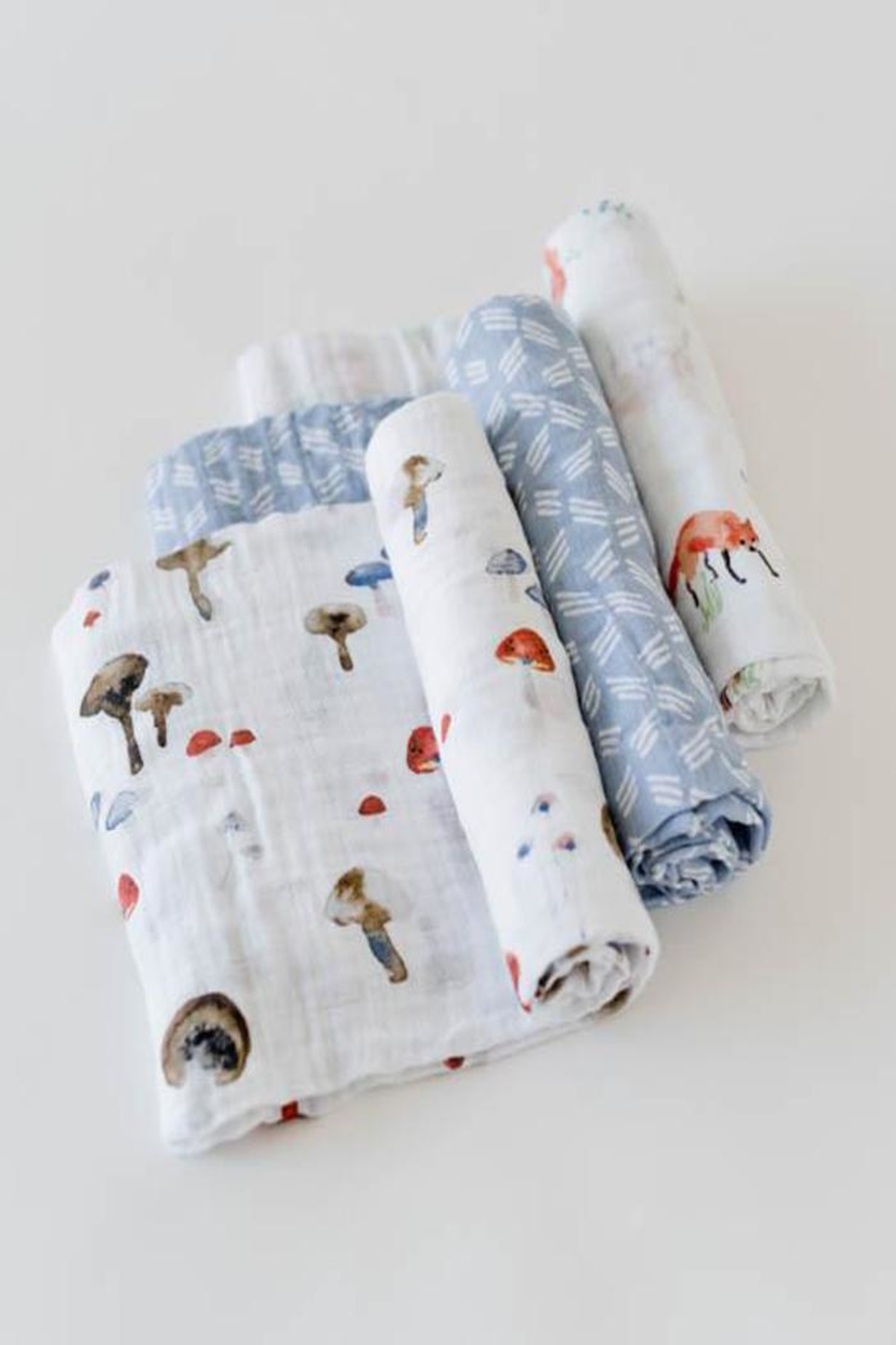 Little Unicorn Fox Swaddle Pack - Front Full Image
