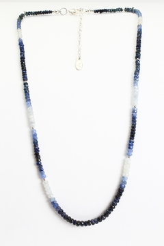 Fox and Beaux Blue Sapphire Necklace - Alternate List Image