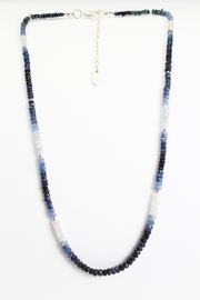 Fox and Beaux Blue Sapphire Necklace - Product Mini Image