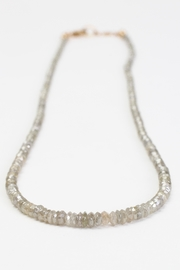 Fox and Beaux Champagne Diamond Necklace - Front full body