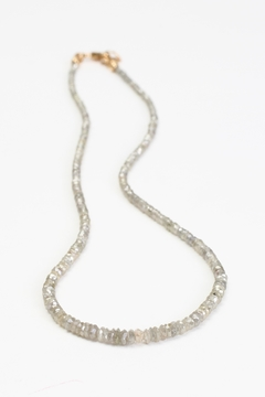 Fox and Beaux Champagne Diamond Necklace - Product List Image