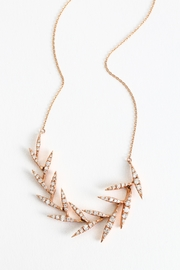 Fox and Beaux Diamond Leaf Necklace - Product Mini Image