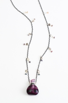 Fox and Beaux Fluorite Bottle Necklace - Product List Image