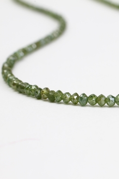 Fox and Beaux Green Diamond Necklace - Alternate List Image