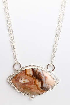 Fox and Beaux Jicorita Jasper Necklace - Alternate List Image