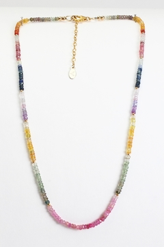 Fox and Beaux Multicolored Sapphire Necklace - Alternate List Image