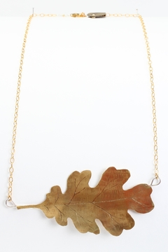 Fox and Beaux Oak Leaf Necklace - Alternate List Image