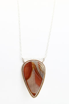 Fox and Beaux Polychrome Jasper Necklace - Product List Image