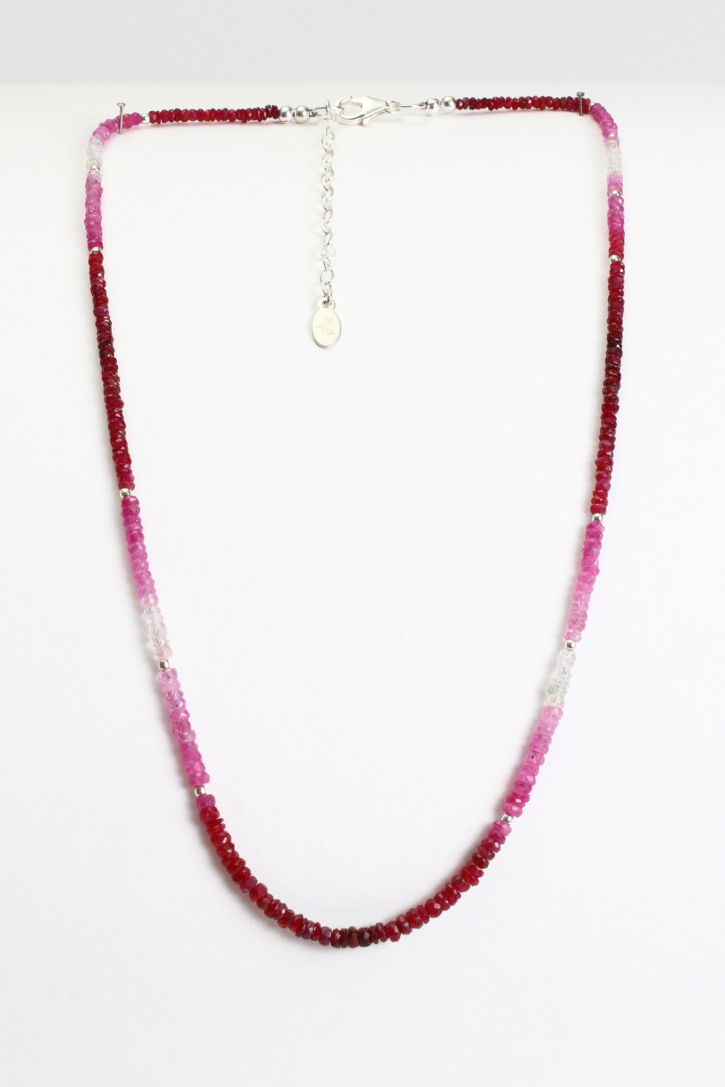 Fox and Beaux Ruby Necklace - Main Image