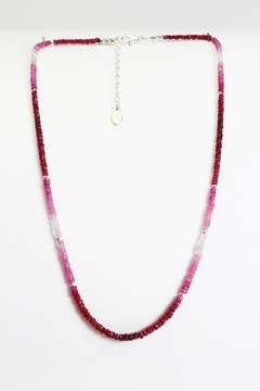 Fox and Beaux Ruby Necklace - Alternate List Image