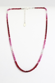 Fox and Beaux Ruby Necklace - Product Mini Image