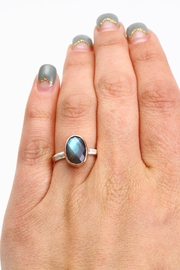 Fox and Beaux The Dayflower Ring - Front full body