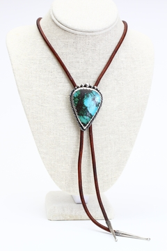 Fox and Beaux Turquoise Bolo Tie - Product List Image